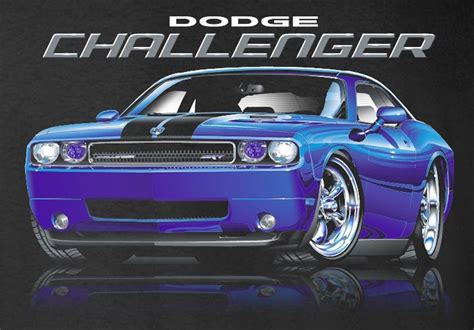 Dodge Challenger Clothing Dodge Challenger Srt T Shirts 2008 To 2016 Mirrored