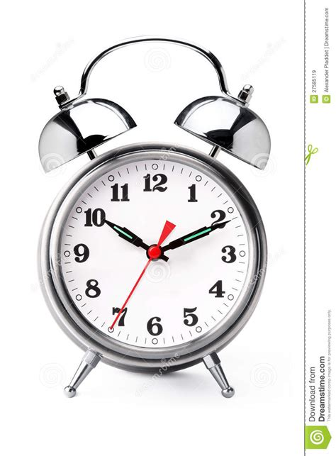 alarm clock stock image image of digits metallic morning 27585119
