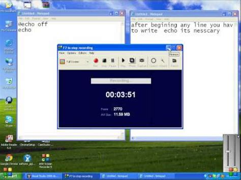 make software how to make a simple software in notepad
