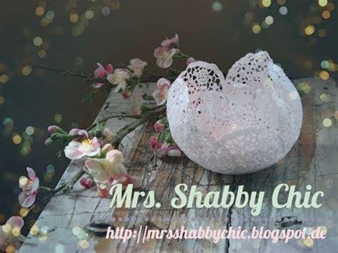 Kerzenhalter Shabby Chic by Diy Romantische Ideen Mit Papierspitze Tortenspitze
