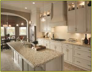 Cheap Wood Kitchen Cabinets by Crema Pearl Granite Home Depot Home Design Ideas