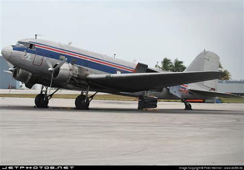 n15ma douglas dc 3 florida air cargo menner jetphotos