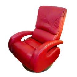 red leather recliner by lane for sale at 1stdibs