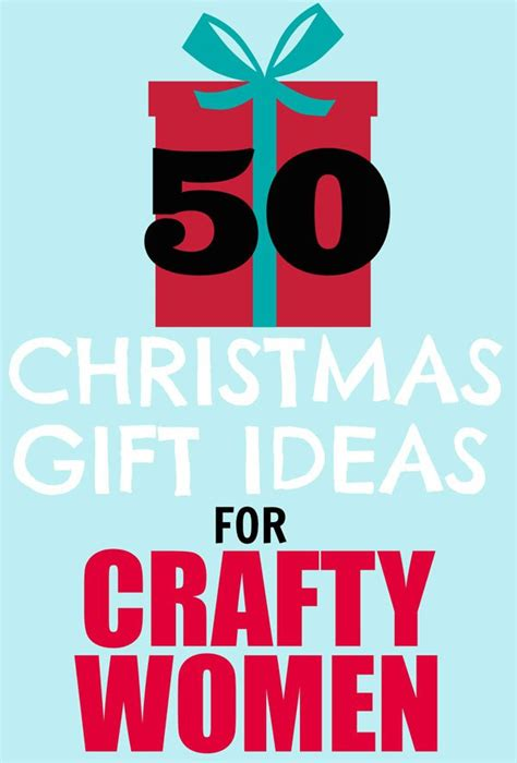50 christmas gift ideas for crafty women fynes designs