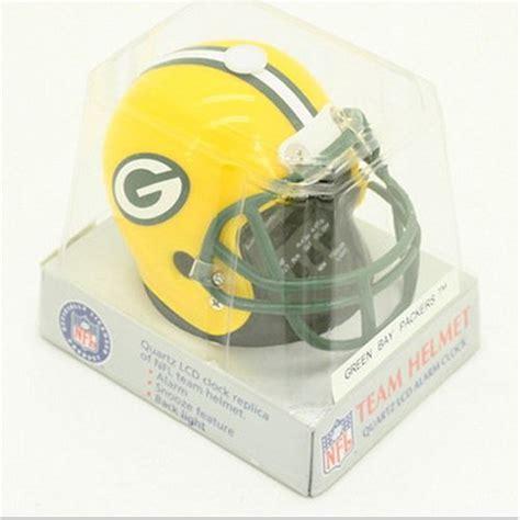 looking for helmets green bay packers football helmet alarm clock