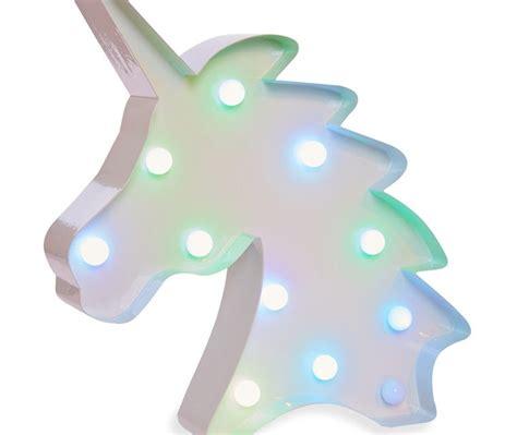 unicorn in light unicorn led light by primark
