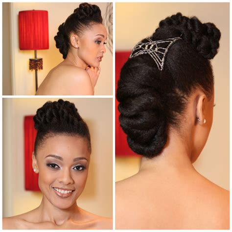 natural hair updo bridal inspired sisiyemmie updo hairstyles coordinated for you