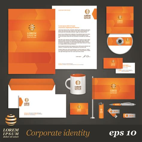 8 free vector corporate identity kits creative beacon