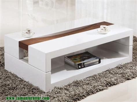 Pelunasan Tami meja tami minimalis cat putih zaman furniture jepara