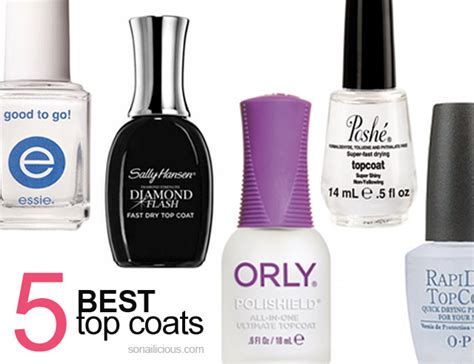 best toppings 5 best top coats part 2