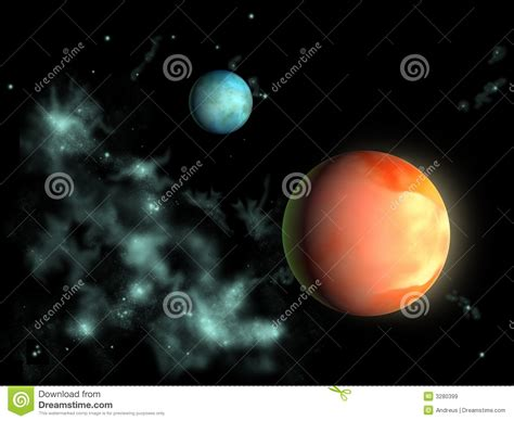 Planetary Exploration The Distant Planets Cover distant planets royalty free stock images image 3280399