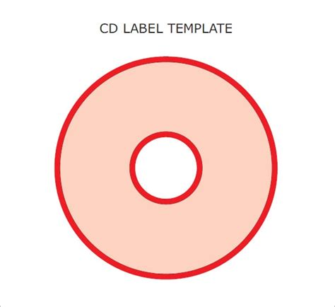 6 Sle Cd Label Templates To Download Sle Templates Free Cd Template