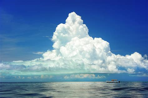 sky boat free images sea coast horizon cloud sky boat