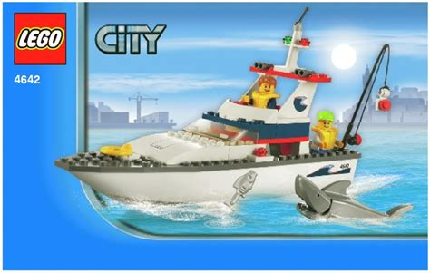 lego city fishing boat lego fishing boat instructions 4642 city