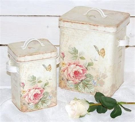 beautiful kitchen canisters shabby chic tins accessorizing your country home