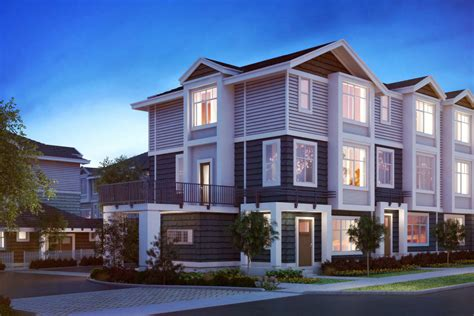 townhouse design zirkon townhomes in south surrey luxury residences at