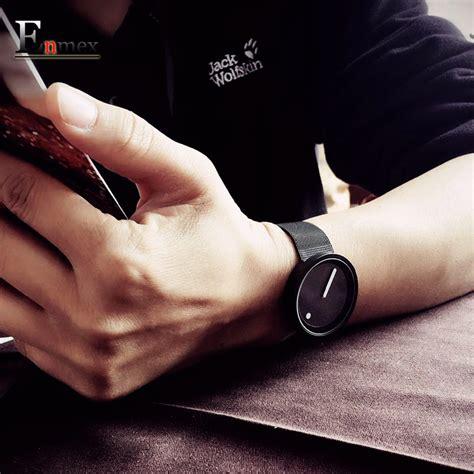 Jam Tangan Gucci Fashion enmex jam tangan analog fashion pria e2311 black white jakartanotebook