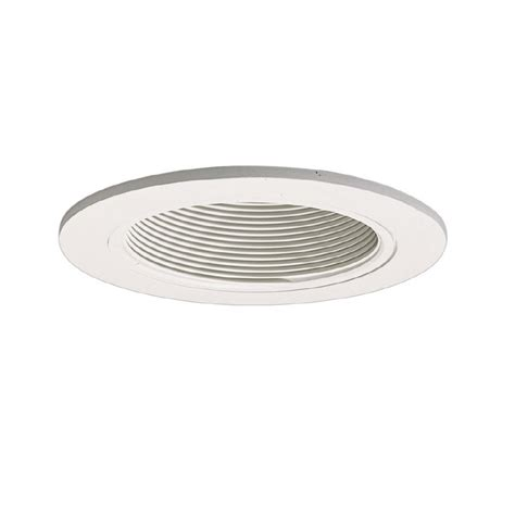 recessed ceiling light trim halo coilex 4 in white baffle recessed ceiling light trim