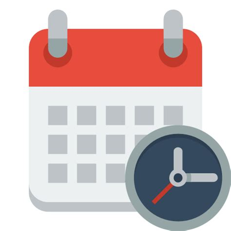 Calendar Clock Icono Calendario Reloj Gratis De Small Flat Icons