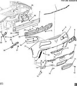 Chevrolet Factory Parts 2014 2015 Chevrolet Corvette C7 Rh L Inner Trim