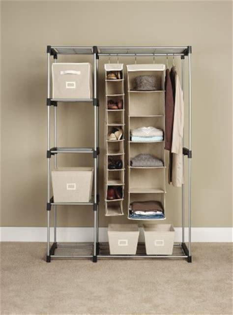 Strong Closets by Whitmor Rod Closet System Organizer Wardrobe