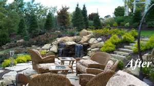 three rivers landscape design installation before and