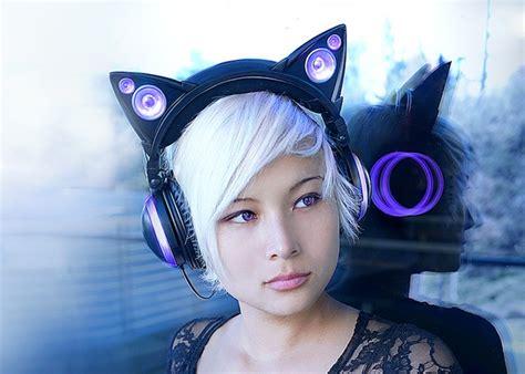 Headphone Axent Wear axent wear cat ear headphones viral gadgets