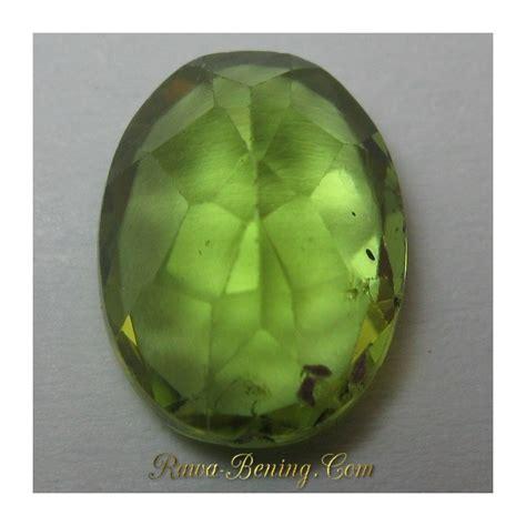 Batu Cincin Peridot Top Luster batu permata peridot oval cut hijau indah 2 30 carat