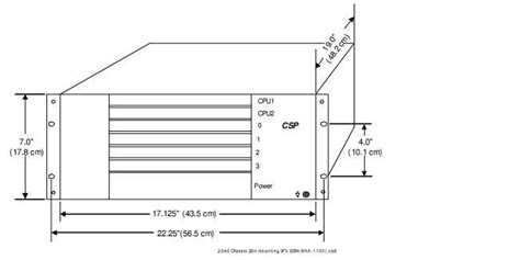 23 Inch Rack Dimensions rack mounting