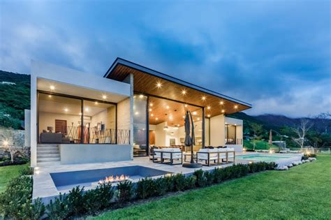 home  designed   high sloping roof