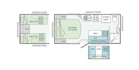 caravan floor plan layouts jayco starcraft caravan australian caravan co
