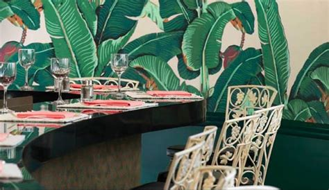 banana leaf wallpaper beverly hills hotel banana leaf beauty and the beverly hills hotel the