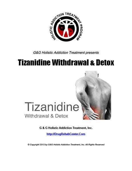 Detoxes Abilify by This Special Report Discusses Tizanidine Withdrawal And