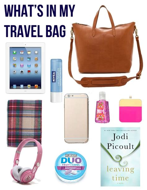 What Is In My Bag by What S In My Travel Bag With Emily