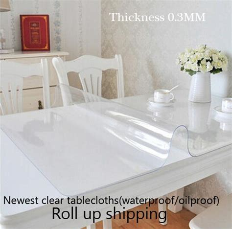 round clear plastic table covers 2015 newest clear soft glass table covers thickness 0 3mm