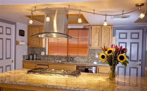 track lighting over kitchen island kitchen track lighting ideas main rules and basic