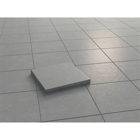 betonplatten 20 x 40 4135 terrassenplatte beton sintra grau strukturiert versiegelt