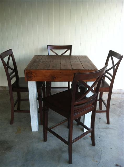repurposed dining table pallet repurposed dining table pallet furniture plans