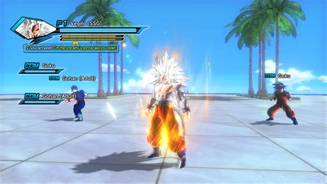Dragon Ball Z Light Goku Ssj5 To Ssj6 For Cac Xenoverse Mods