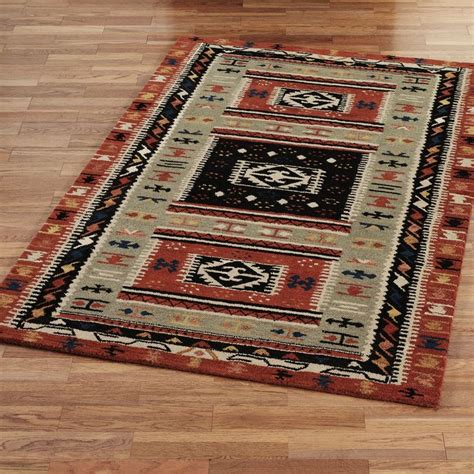 Mission Area Rugs Woolmark R Southwest Area Rugs Mission And Colonial Reviva
