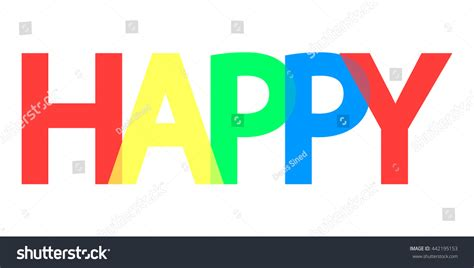 design a banner in word happy word design banner template background stock vector