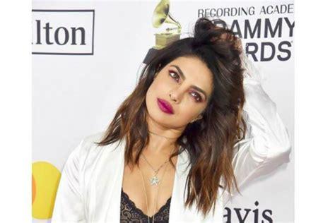 priyanka chopra in grammy awards 2018 priyanka chopra from her bedroom to grammy awards 2018 red