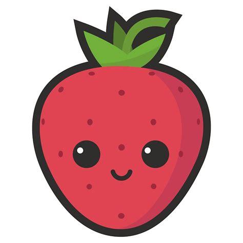 strawberry cartoon cute cartoon strawberry www pixshark com images