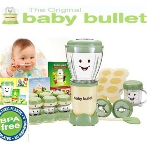 Baby Bullet Food Blender feeding sets 20 pc baby food blender baby bullet was