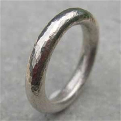 Handmade Silver Rings Uk - handmade silver ring