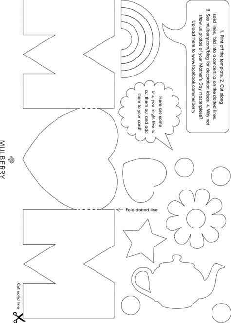 preschool mothers day card template free mothers day card templates patrones de tarjetear 237 a