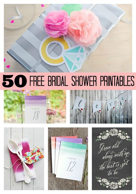 printable bridal shower for free 50 free bridal shower printables pretty my