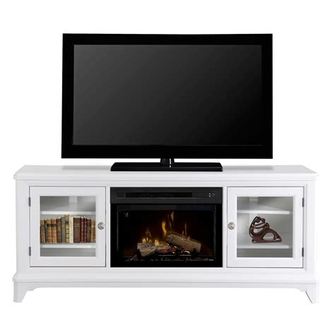 70 quot dimplex winterstein white media console fireplace