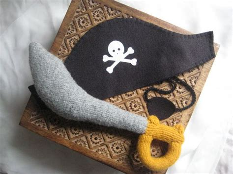 pattern pirate hat felt pirate sword pdf knitting pattern stuffed toy