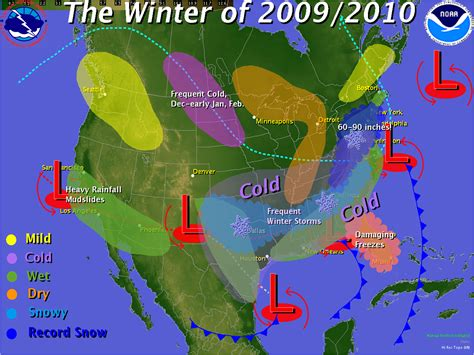 us weather map february what a difference a year makes cool winter 2009 10